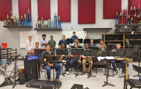 Student musicians jazzed about Jazz Band