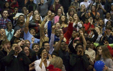 Slideshow: Basketball and soccer pep rally