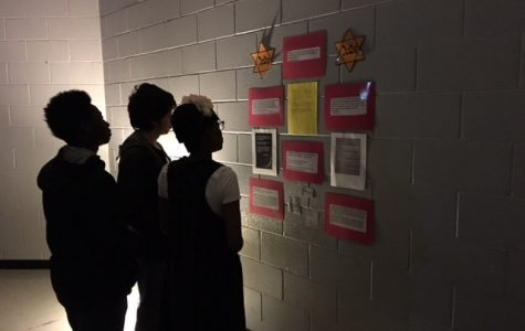 Ninth-grade English classes remember the Holocaust