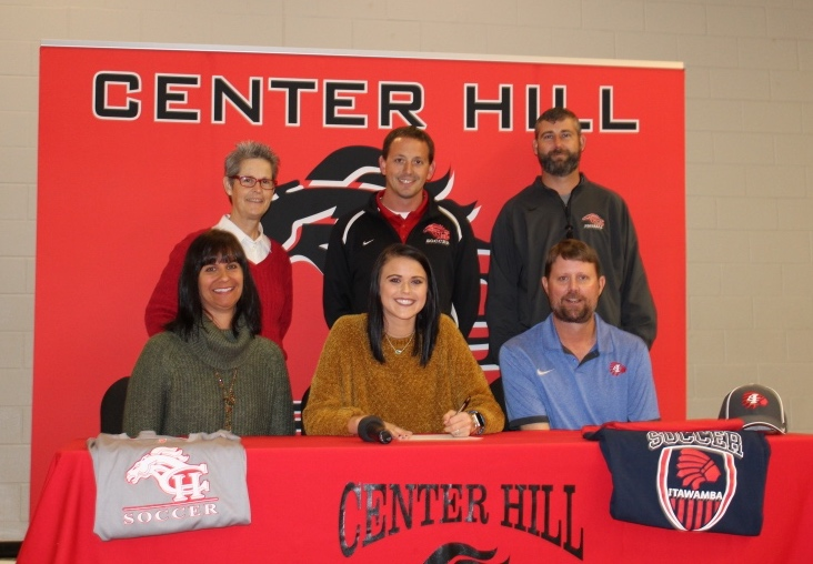 Tiffany Ogden has signed a letter of intent to play soccer at ICC.