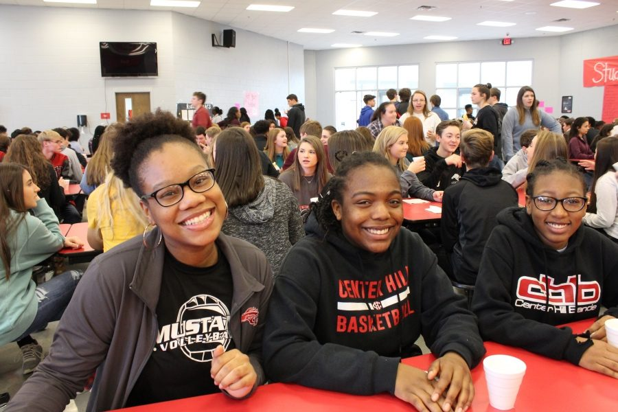 More than half of the CHHS student body was treated to breakfast Jan. 25 for making the second nine weeks Honor Roll.