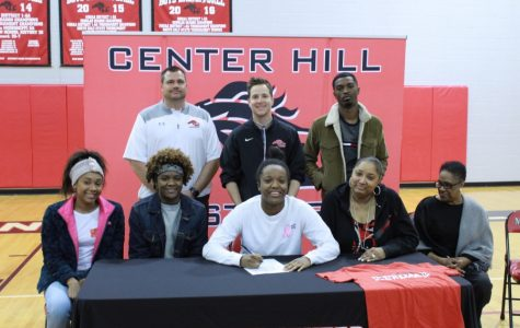 Carrington Kneeland signs with Itawamba Community College