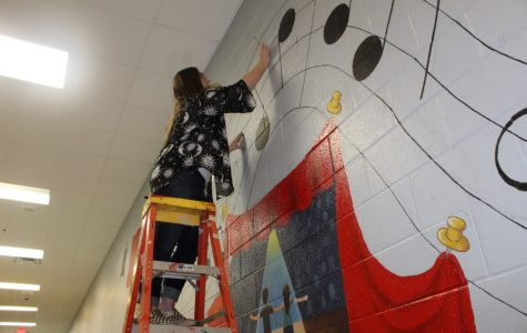 New mural adds color, recognizes performing arts