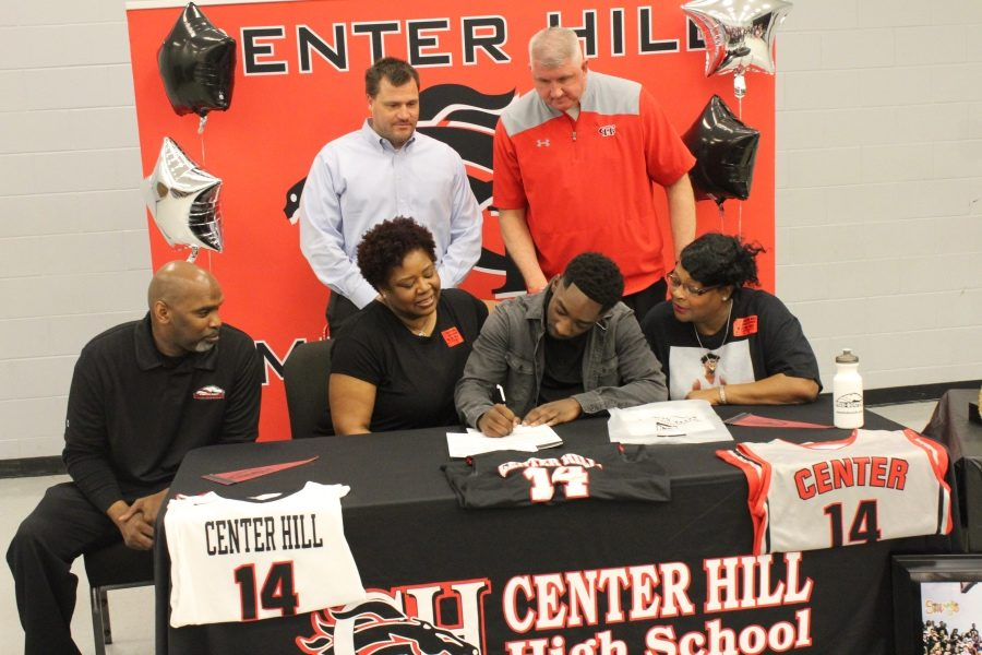 Brien Kimmons officially accepted a scholarship to play basketball for ASU-Mid South on April 18.