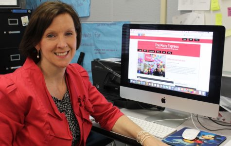When Ginny Shikle became co-adviser of The Pony Express student newspaper at Center Hill High School, one of her goals was to establish a larger online presence. The paper's website is chhsponyexpress.com.