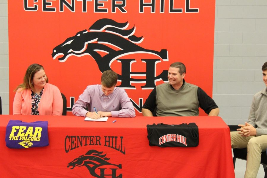 Drew Ashley signed to run track and cross country with the University of Montevallo.