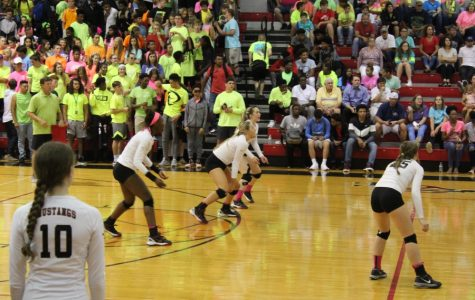 Fan support helps Lady Mustangs glow on Neon Night