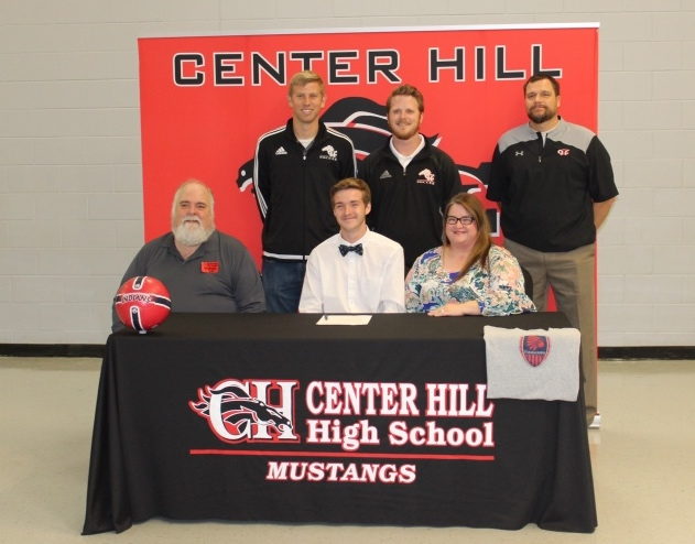 Brayden Hellums signed Nov. 30 to play soccer for Itawamba Community College.