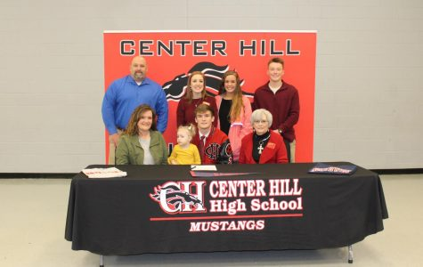 Dylan Riley signs to play soccer with Northwest