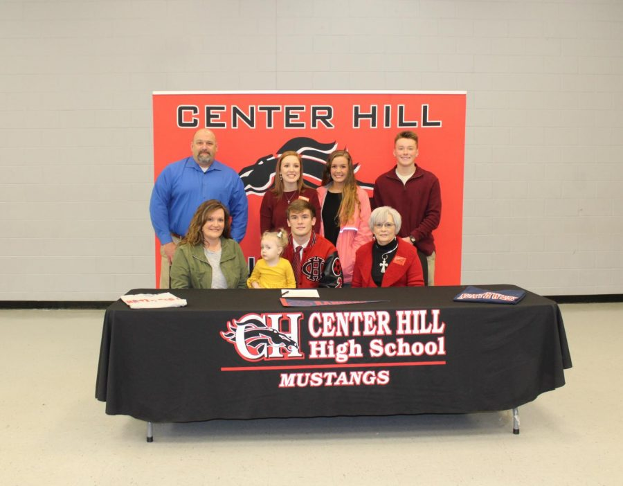 Dylan+Riley%2C+a+center+back+for+the+Mustangs%2C+signed+Feb.+22+to+play+soccer+with+Northwest+Mississippi+Community+College.