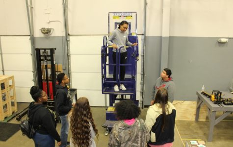 CHHS 10th-graders tour Career Tech East