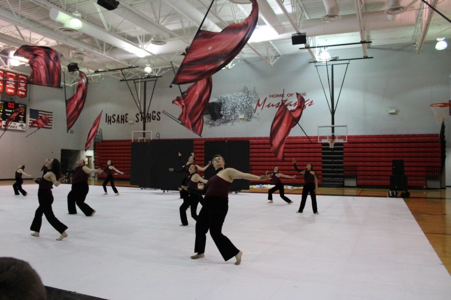 Slideshow: Winterguard, Indoor Winds Show 3/28/19