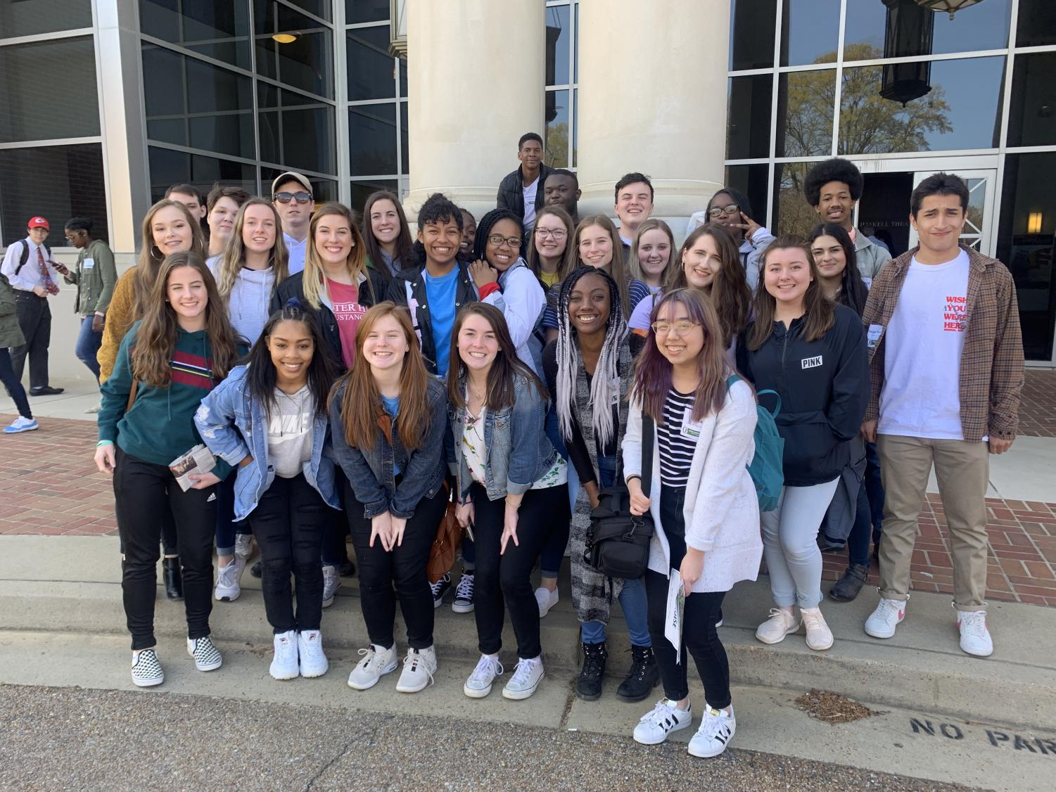 The staffs of Mustang Television and The Pony Express attended the Mississippi Scholastic Press Association's spring convention and journalism competition April 1.