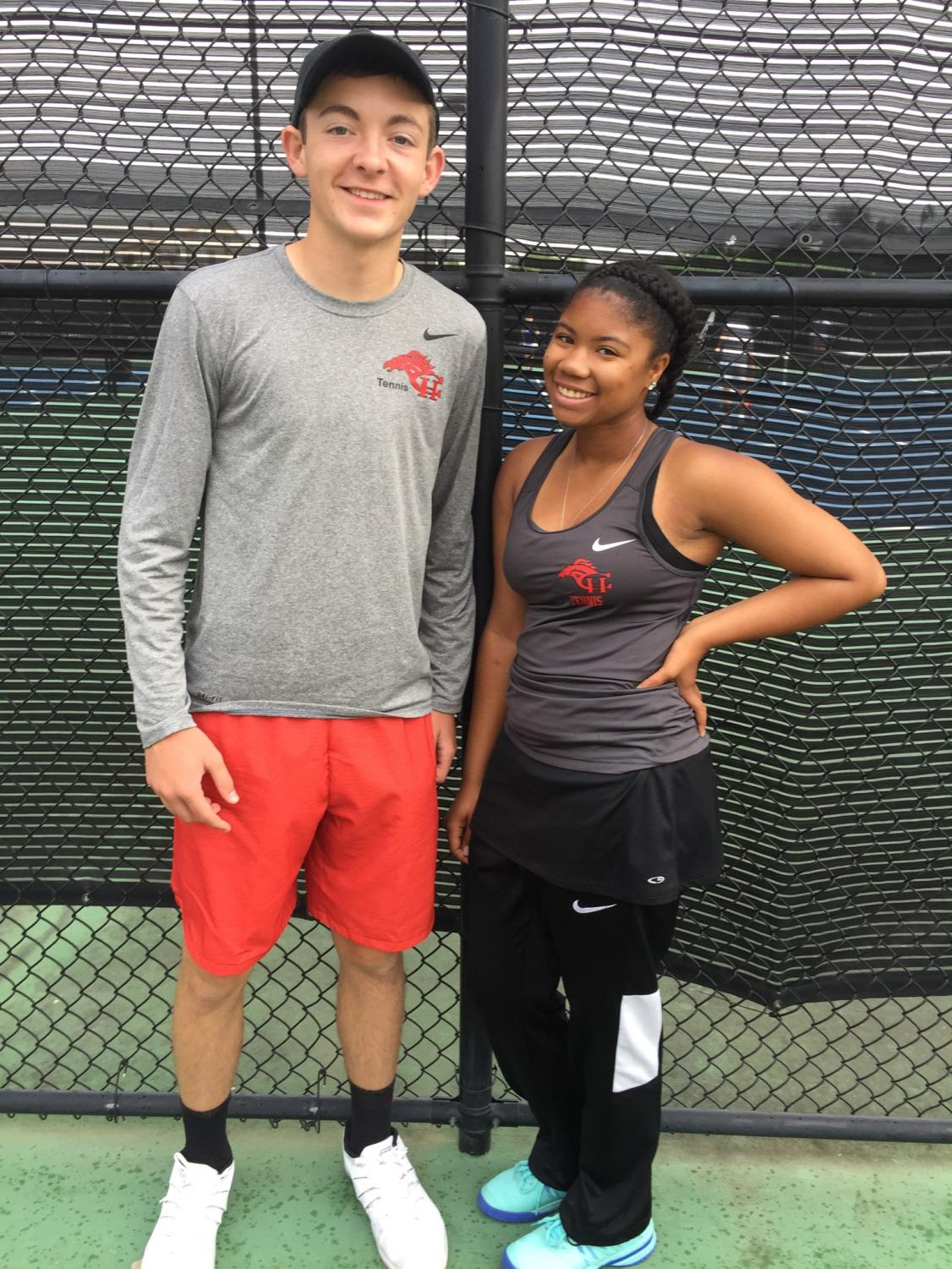 On May 1, Mikaila Coleman served up her second state win at the MHSAA individual tennis championships in Oxford. Michael Floyd advanced to the semi-final round of the 2019 5A boys singles Mississippi state championship.