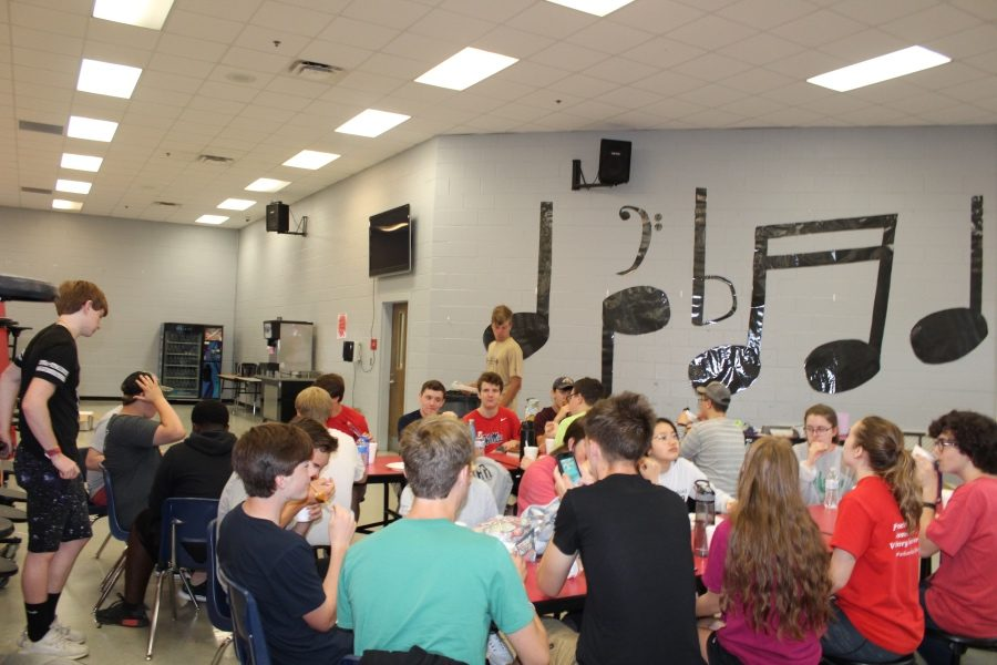 Thirty-nine students participated in a music themed PSAT Camp May 28-June 1 at at Center Hill High School.
