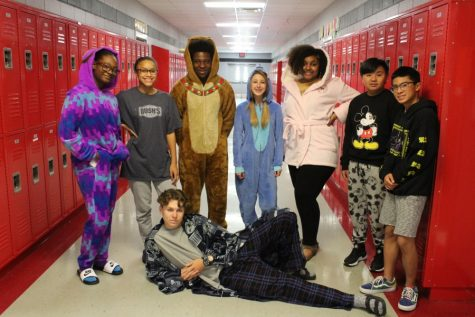 Slideshow: HOCO Pajama Day, 9/9/19