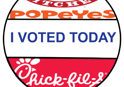 Feathers were flying in August during the Chicken Sandwich War, when Chick-fil-A and Popeyes each bragged about having the best chicken sandwich. In a Twitter survey conducted by The Pony Express, Chick-fil-A received 81 percent of the vote compared to Popeyes' 19 percent.