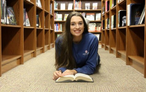 "Megan Weigel was diagnosed with dyslexia when she was in the third grade. ""I like the challenge of working hard when it comes to dyslexia,"" she said. ""When I achieve my goal, it makes me feel better, because I pushed myself."""