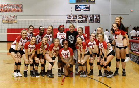 Volleyball advances in 5A playoffs