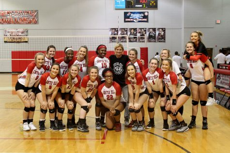 Volleyball headed to playoffs