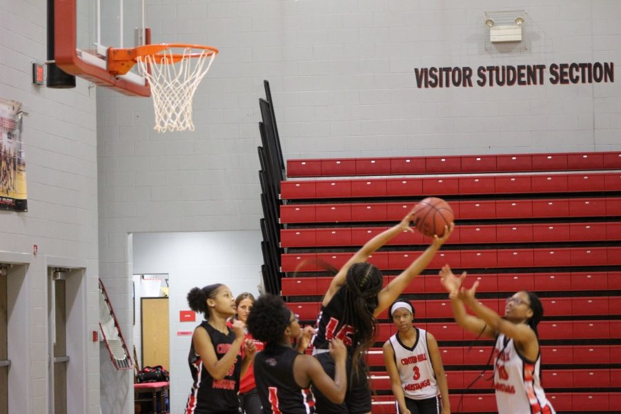 Guard Jourdan Smith (15) grabs the rebound during practice Nov. 1.
