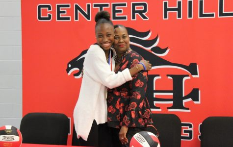 Slideshow: Z. Taylor signs to play volleyball at ICC