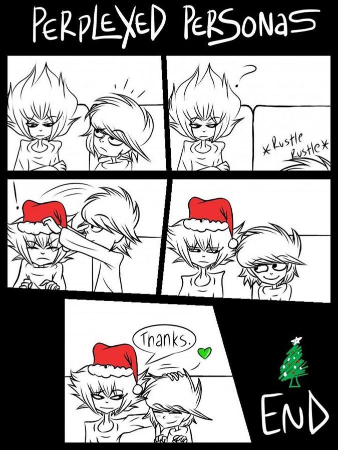 Christmas creates perplexed personas