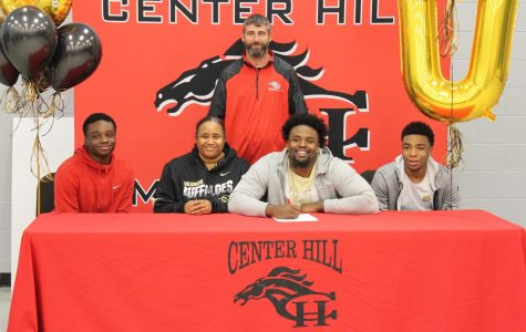 Justin Jackson, a former defensive end for the Mustangs who went on to play at Northwest Mississippi Community College, signed Dec. 18 to play at the University of Colorado Boulder.