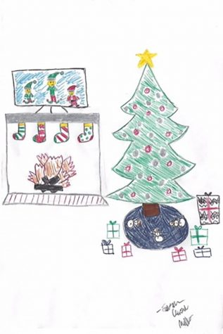 Staff writer Cassidy Bishops cautions students not to ruin the magic of Christmas for their younger siblings.