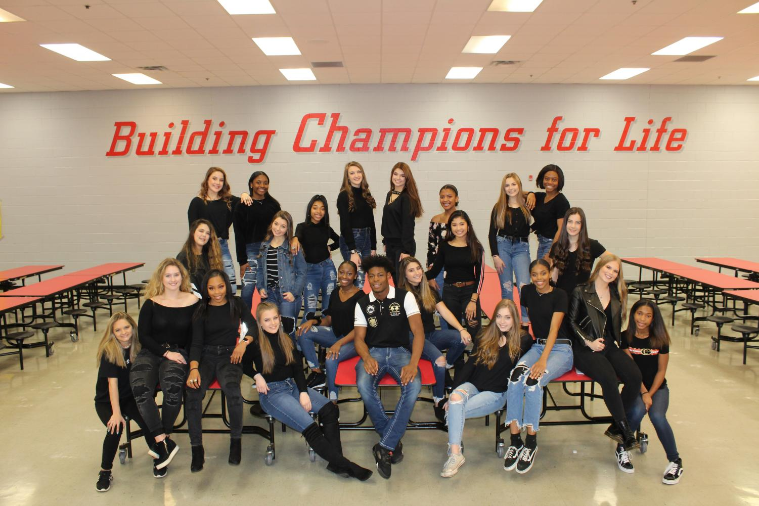 """The Center Hill Dance Team placed 6th in the nation in Large Varsity Hip Hop for the team's highest UDA Nationals finish in school history. """"We have never placed higher than 8th, so to get 6th in the nation is a really big deal,"""" senior dance captain Kennedi Evans said. CHDT also placed 9th in the nation in the Large Varsity Gameday category."""