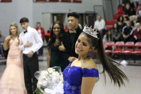 "Breanne Jimenez and David DuVall were crowned Winterfest Queen and King Jan. 24, highlighting a week of festivities that also brought Center Hill's the defeat of Lafayette 107-31. Jimenez said she's always wanted to be Winterfest queen. ""It felt really good,"" she said. ""I was really honored that the whole school nominated me to be their queen."""