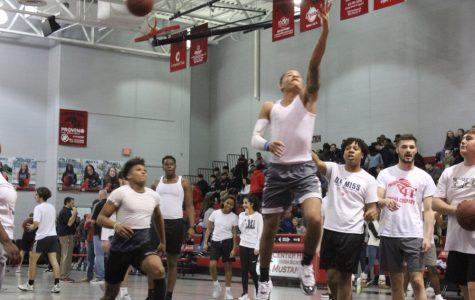 Slideshow: Faculty vs. Student Basketball Game, 1-31-2020