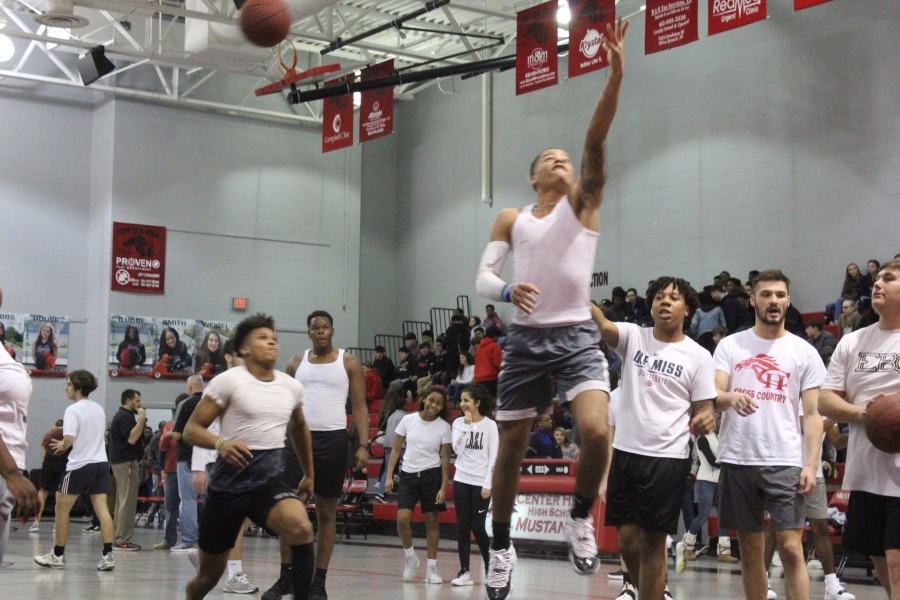 Slideshow: Faculty vs. Student Basketball Game, 1-31-2020
