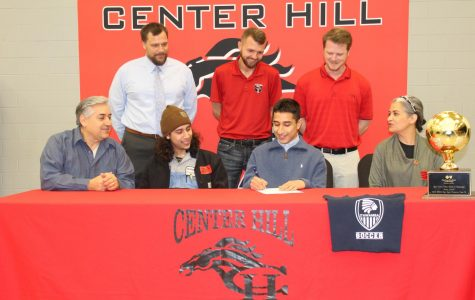 Diego Valenzuela signs to play soccer at ICC