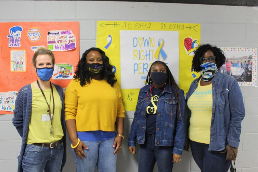 Slideshow: Down Syndrome Blue and Yellow Day, 10-29-2020