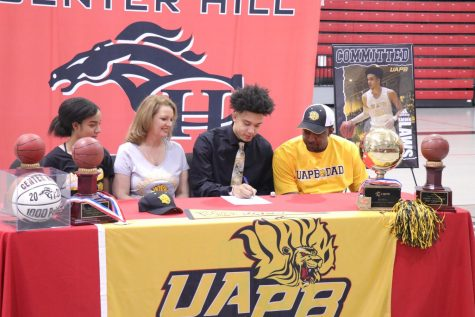 "Kaeden Laws, a 6-foot-5-inch small forward/shooting guard for the Mustangs, signed Nov. 18 to play D1 basketball for the University of Arkansas at Pine Bluff. Laws said playing college basketball is important to him, but he has a more personal reason for choosing to attend a historically black college or university like UAPB. ""With everything that"