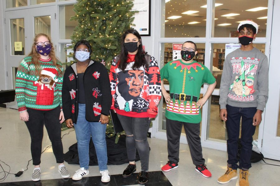 Slideshow: Ugly Christmas Sweater Day, 12-14-2020
