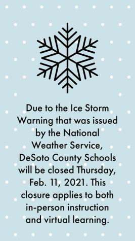 Inclement Weather Day,  2-11-2021