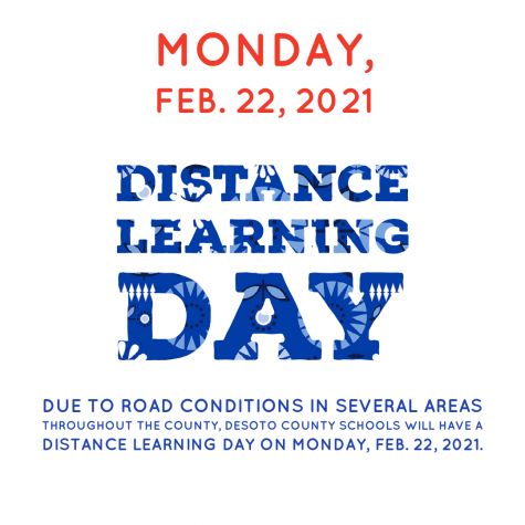 Distance Learning Day, Monday, 2-22-2021