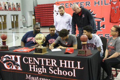 Slideshow: Zandon Haralson signs to play basketball for Northwest, 3-10-21