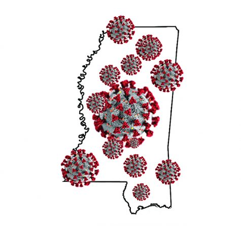For this graphic, designer Brandon Mayse used a coronavirus image created by the Centers for Disease Control and Prevention. The CDC image reveals ultrastructural morphology exhibited by coronaviruses. The original photo is by Alissa Eckert, MS and Dan Higgins, MAMS via the Public Health Image Library at CDC.